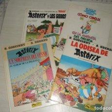 Cómics: 4 COMIC ASTERIX - TAPA DURA - DARGAUD GRIJALBO. Lote 276422538