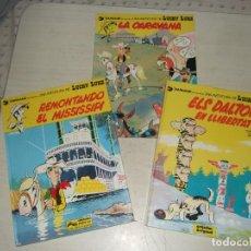 Cómics: 3 COMIC LUKY LUKE - DARGAUD GRIJALBO. Lote 276422573