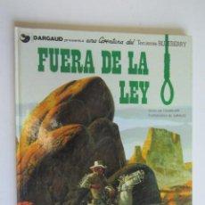 Comics : TENIENTE BLUEBERRY 10 - FUERA DE LA LEY - GRIJALBO - AS02. Lote 276796863