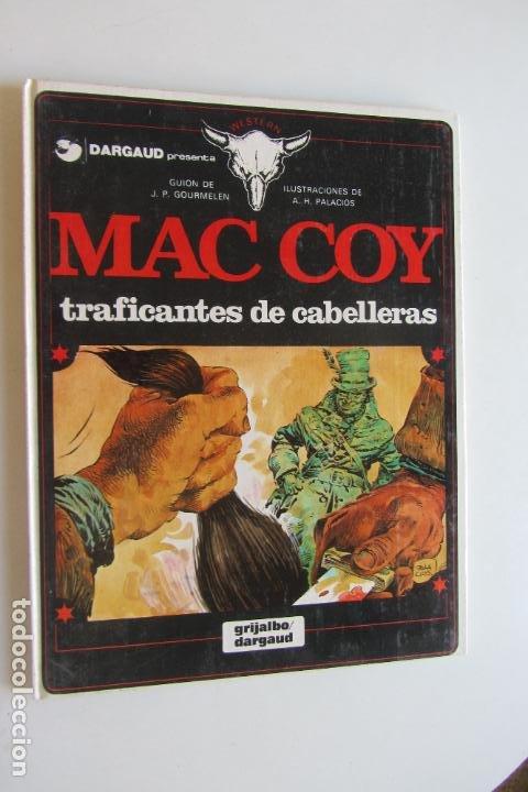 MAC COY 7 - TRAFICANTES DE CABELLERAS - GRIJALBO. AS02 (Tebeos y Comics - Grijalbo - Mac Coy)