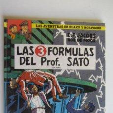 Cómics: LAS AVENTURAS DE BLAKE Y MORTIMER 12 - LAS 3 FORMULAS DEL PROF. SATO (2ª PARTE) - GRIJALBO. AS02. Lote 276803118