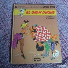 Cómics: EL GRAN DUQUE. LUCKY LUKE. GRIJALBO DARGAUD. TAPA DURA. N° 3.. Lote 276989213