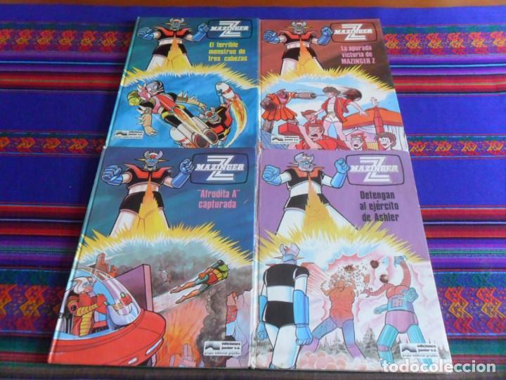 MAZINGER Z NºS 2, 3, 4 Y 5. JUNIOR GRIJALBO 1978. TAPAS DURAS. (Tebeos y Comics - Grijalbo - Otros)