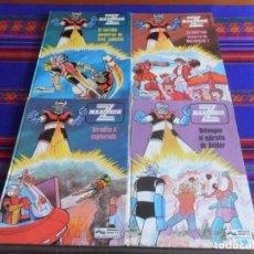 Cómics: MAZINGER Z NºS 2, 3, 4 Y 5. JUNIOR GRIJALBO 1978. TAPAS DURAS.. Lote 277046798