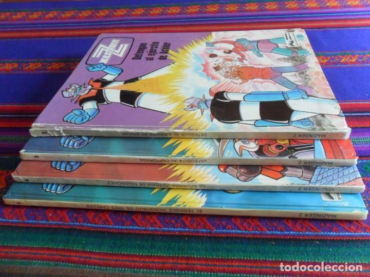 Cómics: MAZINGER Z NºS 2, 3, 4 Y 5. JUNIOR GRIJALBO 1978. TAPAS DURAS. - Foto 3 - 277046798