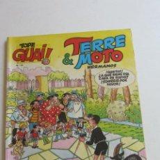 Cómics: TOPE GUAI Nº 10 - TERRE & MOTO HERMANOS, DE ESCOBAR - HOGAR DULCE HOGAR - JUNIOR 1987 CARX7. Lote 277091693