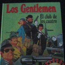 Cómics: LOS GENTLEMEN--EL CLUB DE LOS CUATRO. Lote 277649073