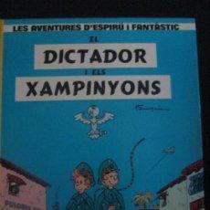Cómics: ESPIRU I FANTASIO--EL DICTADOR I ELS XAMPINYONS--FRANQUIN. Lote 277649263