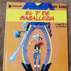 Cómics: LUCKY LUKE Nº 7 EL 7º DE CABALLERIA (GRIJALBO DARGAUD 1979). Lote 277676953