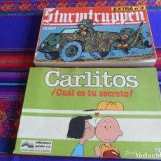 Cómics: CARLITOS Nº 3 CUÁL ES TU SECRETO. JUNIOR 1984. REGALO STURMTRUPPEN EXTRA Nº 3. NEW COMIC 1982.. Lote 277681588