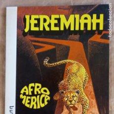 Comics: JEREMIAH - JUNIOR (GRIJALBO) / NÚMERO 7 - AFROMERICA. Lote 277686028