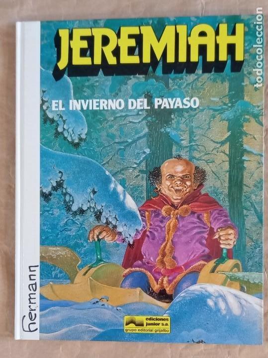 JEREMIAH - JUNIOR (GRIJALBO) / NÚMERO 9 - EL INVIERNO DEL PAYASO (Tebeos y Comics - Grijalbo - Jeremiah)