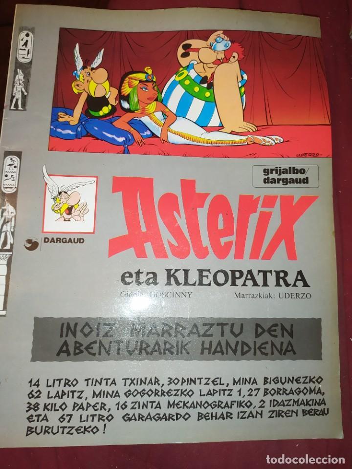 ASTERIX ETA KLEOPATRA 2009 GIDOIS GOSCINNY MARRAZKIAK UDERCO (Tebeos y Comics - Grijalbo - Asterix)