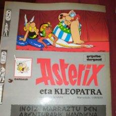 Cómics: ASTERIX ETA KLEOPATRA 2009 GIDOIS GOSCINNY MARRAZKIAK UDERCO. Lote 278302133
