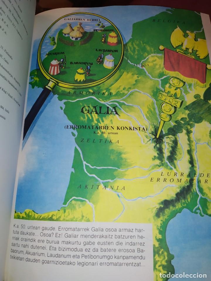 Cómics: ASTERIX ETA KLEOPATRA 2009 GIDOIS GOSCINNY MARRAZKIAK UDERCO - Foto 16 - 278302133