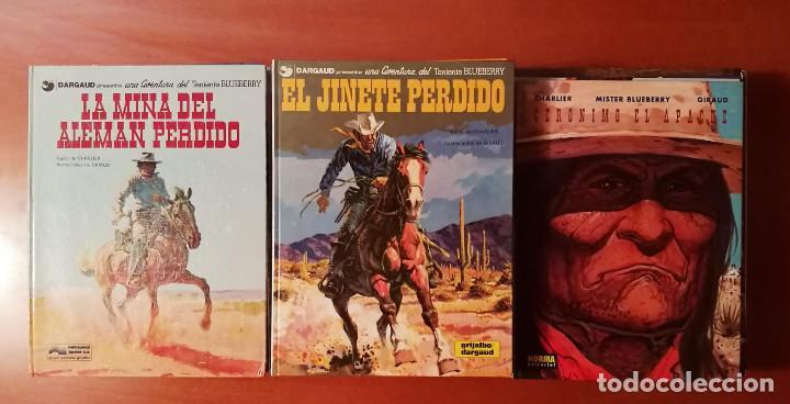 BLUEBERRY GRUPO EDITORIAL GRIJALBO : EDICIONES JUNIOR NORMA EDITORIAL LOTE DE 49 Nº. (Tebeos y Comics - Grijalbo - Blueberry)