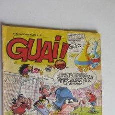 Cómics: GUAI Nº 23 CON ASTERIX Y LUCKY LUKE - EDICIONES JUNIOR GRIJALBO ARX55. Lote 278474043