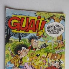 Cómics: GUAI Nº 60 CON ASTERIX Y LUCKY LUKE - EDICIONES JUNIOR GRIJALBO ARX55. Lote 278474083