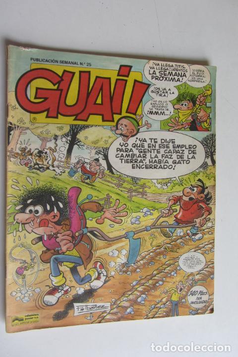 GUAI Nº 25 CON ASTERIX Y LUCKY LUKE - EDICIONES JUNIOR GRIJALBO ARX55 (Tebeos y Comics - Grijalbo - Otros)
