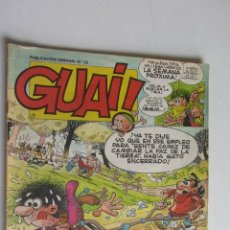 Cómics: GUAI Nº 25 CON ASTERIX Y LUCKY LUKE - EDICIONES JUNIOR GRIJALBO ARX55. Lote 278474203
