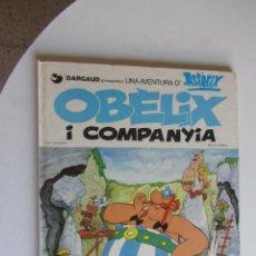 Cómics: ASTERIX - OBELIX I COMPANYIA - ED. JUNIOR TAPA DURA CATALÀ ARX121. Lote 278508028