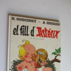 Cómics: ASTÈRIX EL FILL D'ÀSTERIX CATALÀ R. GOSCINNY - A. UDERZO. EDITORIAL GRIJALBO ARX121. Lote 278508433