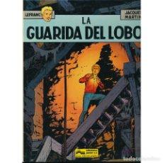 Cómics: LEFRANC 4. LA GUARIDA DEL LOBO. JACQUES MARTIN. TAPA DURA. Lote 278613403