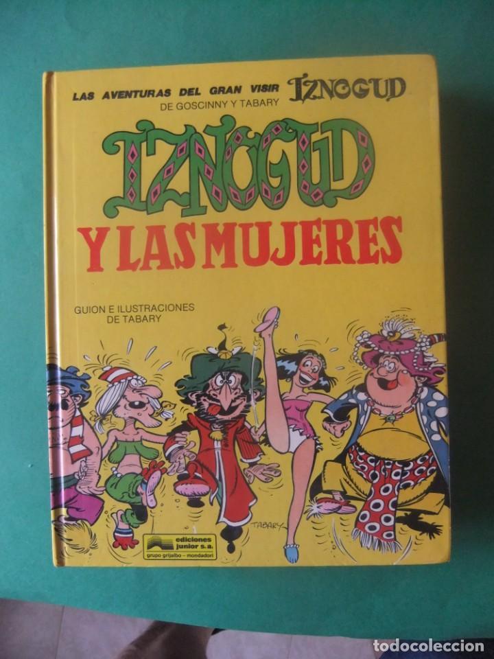 LAS AVENTURAS DEL GRAN VISIR IZNOGUD Nº 9 IZNOGUD Y LAS MUJERES GRIJALBO (Tebeos y Comics - Grijalbo - Iznogoud)