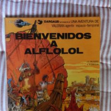 Fumetti: UNA AVENTURA DE VALERIAN AGENTE ESPACIO TEMPORAL- N. 3 - BIENVENIDOS A ALFLOLOL. Lote 278872143