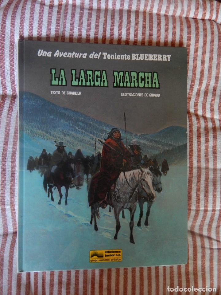 UNA AVENTURA DEL TENIENTE BLUEBERRY - LA LARGA MARCHA- N. 20 (Tebeos y Comics - Grijalbo - Blueberry)