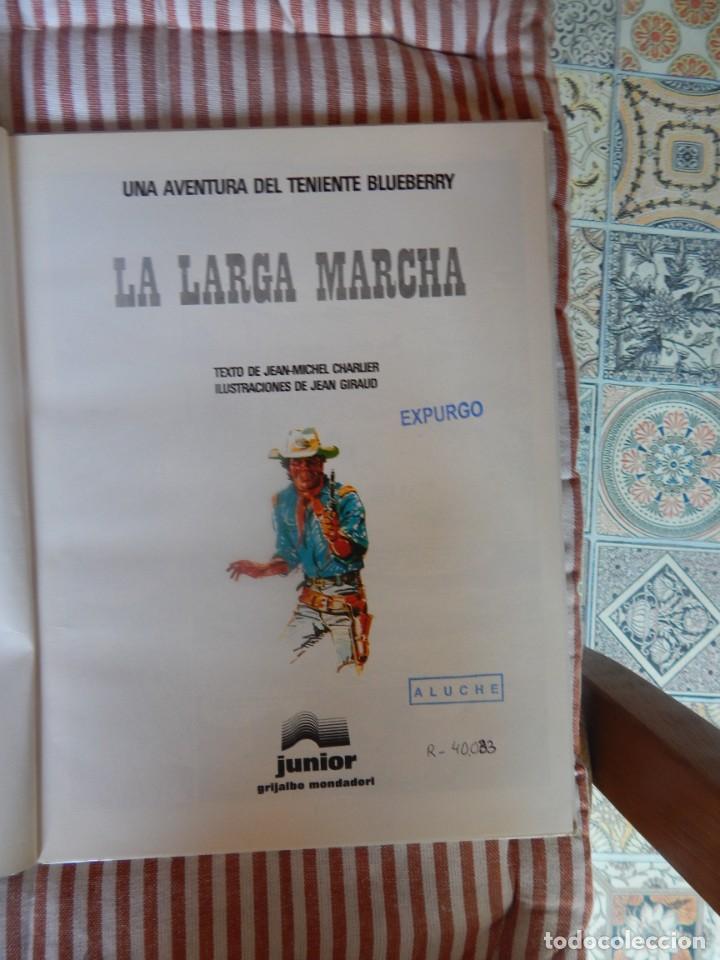 Cómics: UNA AVENTURA DEL TENIENTE BLUEBERRY - LA LARGA MARCHA- N. 20 - Foto 2 - 278920578