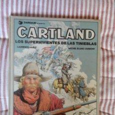 Cómics: CARTLAND - LOS SUPERVIVIENTES DE LAS TINIEBLAS - N. 7. Lote 278929938