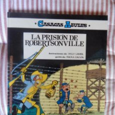 Cómics: CASACAS AZULES - LA PRISION DE ROBERTSONVILLE - N. 6. Lote 278956238