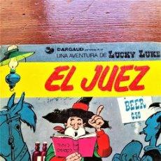 Cómics: LUCKY LUKE .EL JUEZ.. Lote 279553983