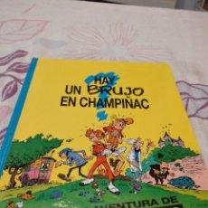 Fumetti: G-88 LIBRO HAY UN BRUJO EN CHAMPIÑAC ; UNA GRAN AVENTURA DE SPIROU Y FANTASIO ! - FRANQUIN. Lote 280110703