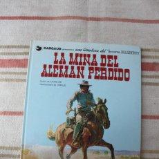 Comics: TENIENTE BLUEBERRY Nº 1: LA MINA DEL ALEMAN PERDIDO; GRIJALBO. Lote 280338633