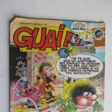 Comics: GUAI! Nº 29 EDICIONES JUNIOR GRIJALBO ARX126. Lote 280713968
