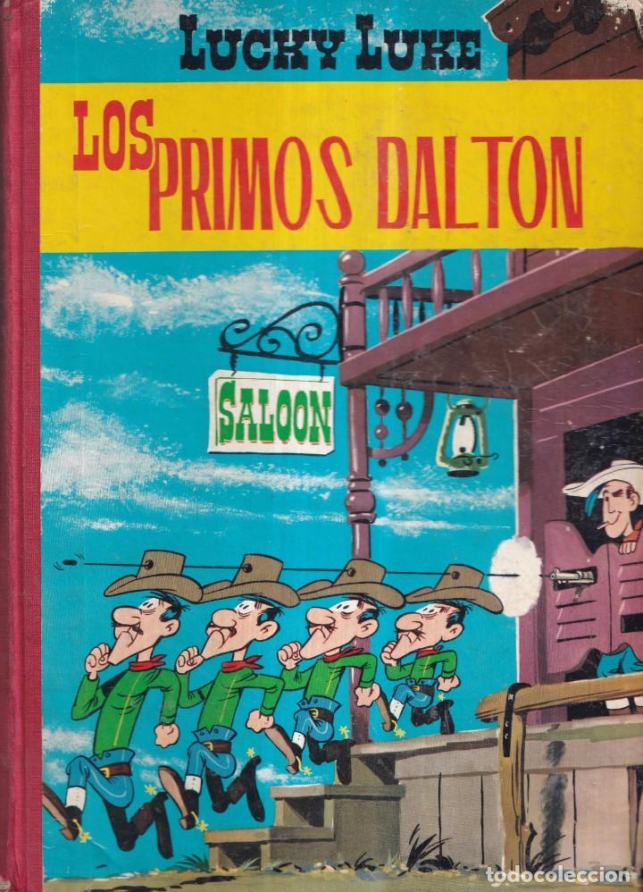 LUCKY LUKE, LOS PRIMOS DALTON - ED. TORAY 1969 LOMO TELA (Tebeos y Comics - Grijalbo - Lucky Luke)