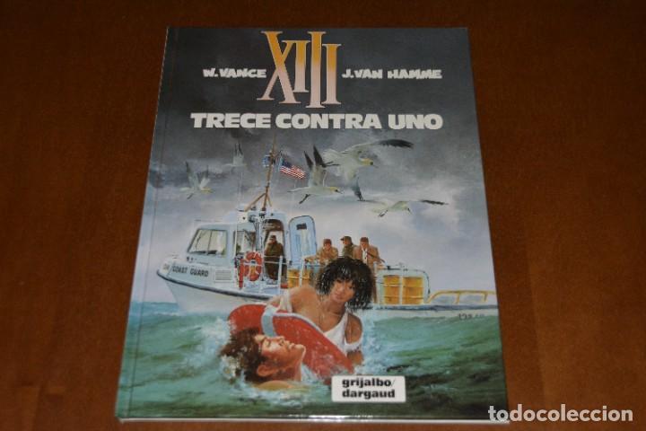 XIII Nº 8, TRECE CONTRA UNO. EXCELENTE ESTADO, GRIJALBO (Tebeos y Comics - Grijalbo - XIII)