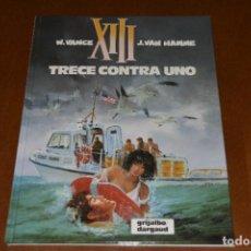 Cómics: XIII Nº 8, TRECE CONTRA UNO. EXCELENTE ESTADO, GRIJALBO. Lote 280996808