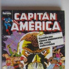 Comics: CAPITAN AMERICA VOL.1 RETAPADO Nº 36 - 37 - 38 - 39 - 40 FORUM ETX. Lote 281380448