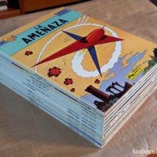 Cómics: LEFRANC - JUNIOR (GRIJALBO) / COLECCIÓN COMPLETA (10 NÚMEROS). Lote 281788093