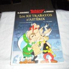 Cómics: LOS XII TRABAYOS D`ASTERIX EN ASTURIANO.EDITORIAL SALVAT 2017. Lote 281828498