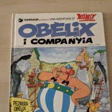 Cómics: UNA AVENTURA D'ASTÈRIC, OBÈLIX I COMPANYIA, GRIJALBO DARGAUD. Lote 282009903
