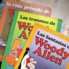 Cómics: LA VIDA PRIVADA, FANTASÍAS Y TRAUMAS DE WOODY ALLEN. 3 TOMOS. Lote 282073843
