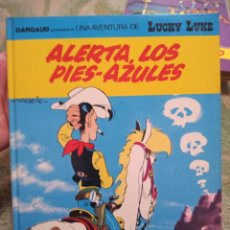 Comics: LUCKY LUKE 45 ALERTA LOS PIES AZULES GRIJALBO DARGAUD. Lote 282991463