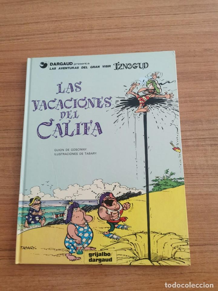 LAS AVENTURAS DEL GRAN VISIR IZNOGUD - LAS VACACIONES DEL CALIFA - N. 12 (Tebeos y Comics - Grijalbo - Iznogoud)