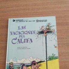 Cómics: LAS AVENTURAS DEL GRAN VISIR IZNOGUD - LAS VACACIONES DEL CALIFA - N. 12. Lote 283003953