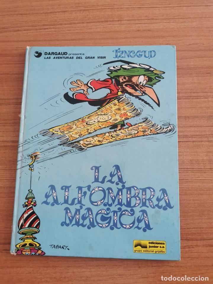 LAS AVENTURAS DEL GRAN VISIR IZNOGUD - LA ALFOMBRA MAGICA - N. 3 (Tebeos y Comics - Grijalbo - Iznogoud)