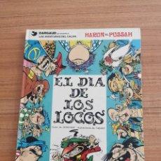 Cómics: LAS AVENTURAS DEL CALIFA - HARUN EL PUSSAH- EL DIA DE LOS LOCOS - N. 2. Lote 283005838